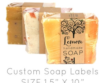 Custom Soap Labels - 100ct