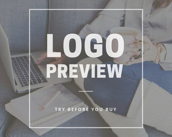 Logo Preview - Try Before You Buy!