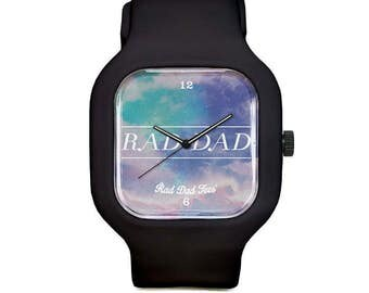 Dream Sky RAD DAD Sport Watch, wristwatch, father's day, for dad, dads, fun, accessories