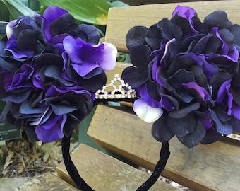 Black Violet Mickey Ears