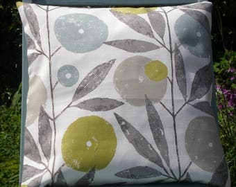 "Harlequin Scion Fabric Cushion Cover - 'Blomma"" Scandi Design - Last Few - To Clear"