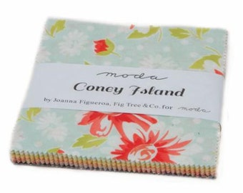 NEW! Moda Coney Island Charm Pack by Fig Tree and Co