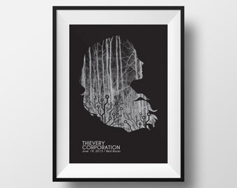 Thievery Corporation - Screen Print Poster - 2015