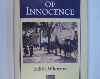 1st Ed. thus/1st Prt. The Age of Innocence by Edith Wharton - NF/VG+ 1996 Hardcover with Dust Jacket