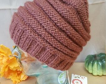 Hand made hat. Sheep wool