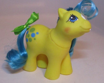 My Little Pony CUSTOM G1 Baby Bubbles - Custom Baby Pony! G1 Vintage