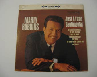 Marty Robbins - Just A Little Sentimental - Circa 1961