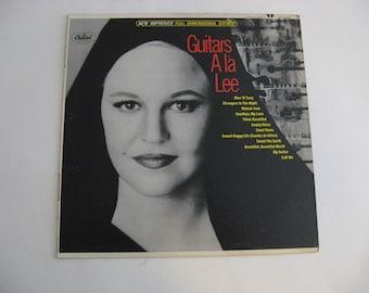 Peggy Lee - Guitars A La Lee - Circa 1966