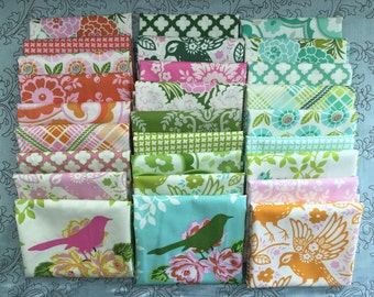 Up Parasol by Heather Bailey for Free Spirit Fabrics - Complete Fat Quarter Bundle