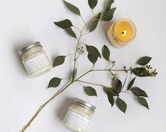 Pick 3 Mason Jar Soy Candles