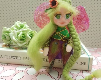 OOAK Pixie Fairy Collectable Art Doll - Shay-Lee