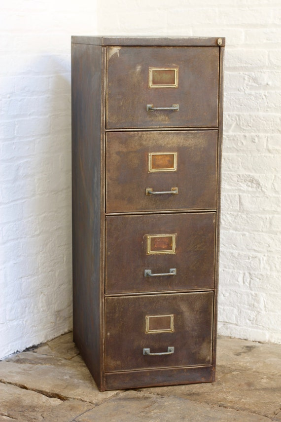vintage file cabinet tannery reclaimed vintage industrial 1940s stripped 27974