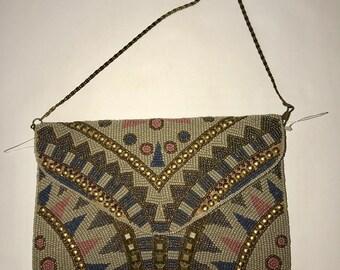 Vintage Beautiful Eunice Beaded Clutch