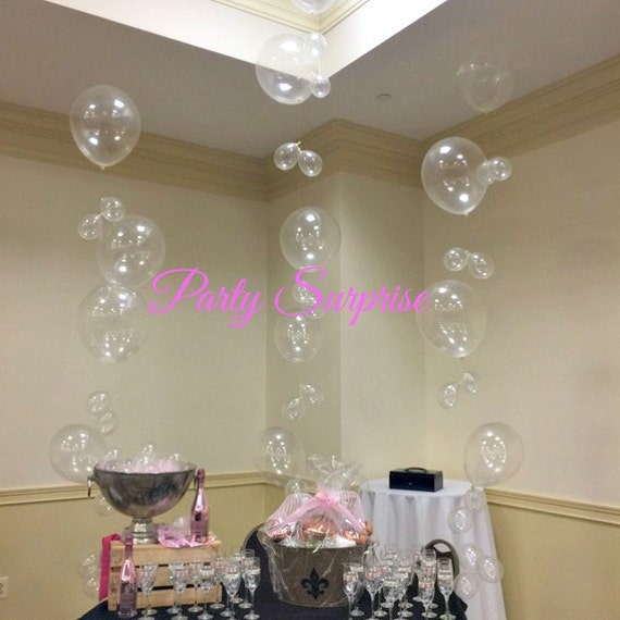 Balloon Bubble Strands Diy Get This Look Birthday Bar