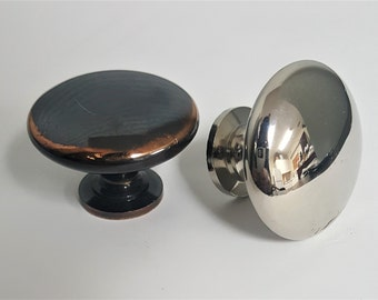Large Cupboard Knobs With Turned Foot #4617