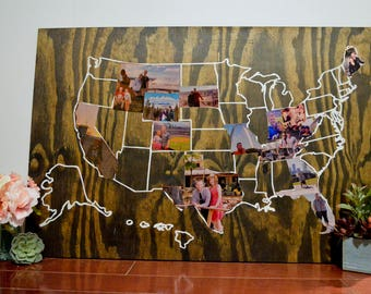 United States Travel Picture Map