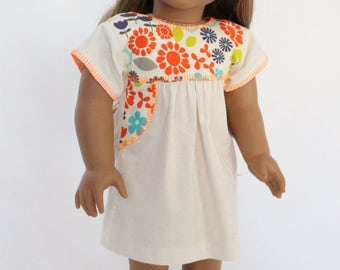 18 inch doll clothes - Tijuana Summer Dress