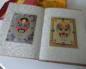 Chinese Silk Opera Mask Designs