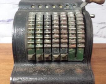 Antique American Adding Machine