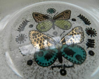 Georges Briard butterfly berry bowl