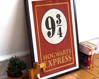 Hogwarts Express Poster - Harry Potter Print