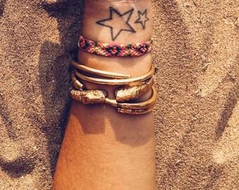 Brass Makara Bracelet - Medium