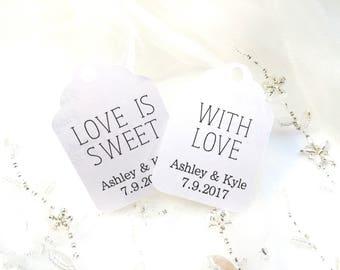 Custom Favor Tags - wedding favour tags - thank you tags - wedding thank you tags - wedding favor tags - favor tags