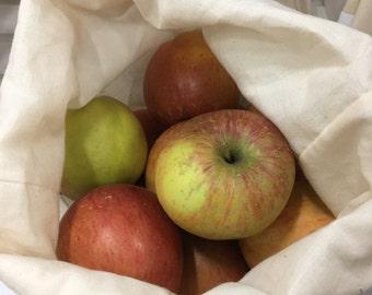 Reusable and washable produce/dry bulk food bags
