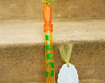 Easter Bubble Wands/Carrot Inspired Bubble Wands