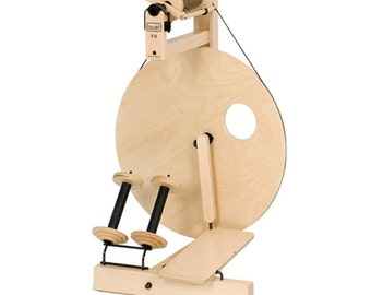 Louet S10 Spinning Wheel, Single Treadle or Double Treadle, Art Yarn Spinning, Beginner Wheel, Production Wheel
