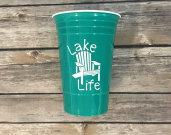 Lake Life Solo Cup, Lake Life Cup, solo cup, party cup