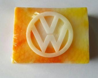 Vw, Volkswagen soap,Tye dye soap, Shea Butter Soap