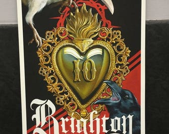 Brighton Tattoo Convention 2017 - Signed Fine Art Print by Emily Wood