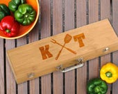 Grilling Set/BBQ Set/Personalized/Father's Day Gift/Birthday/Grill Master