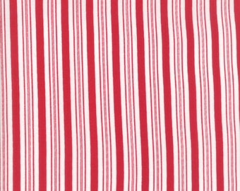 Sugar Plum Christmas - Candy Cane Stripes - Candy Red - #2916-11 - Moda Fabrics - Bunny Hill Designs - Holiday fabric - IN STOCK