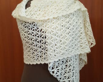 White stole to crochet
