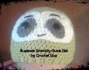 Grembly Gunk hat, Sloth hat, TWD hat, Green Sloth hat,