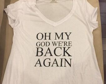 Oh My God We're Back Again Backstreet Boys T-Shirt