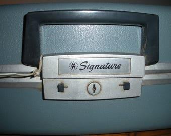 Vintage Manual Typewriter Blue