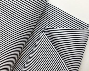 Intermix - Dress Stripe Charcoal - Dear Stella (Stella-433-Charcoal)