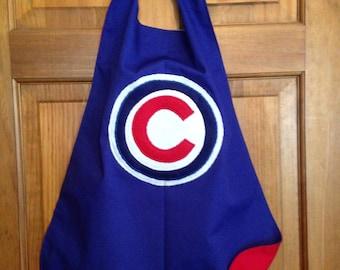 CHICAGO CUBS Kids Superhero Cape/Costume