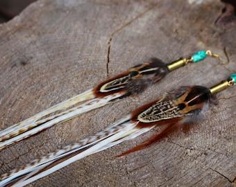 Feather Earrings #01