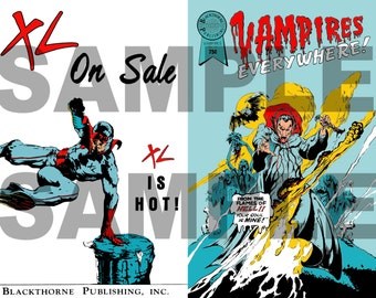 "Lost Boys Prop ""Vampires Everywhere"" DELUXE EDITION Comic Replica"