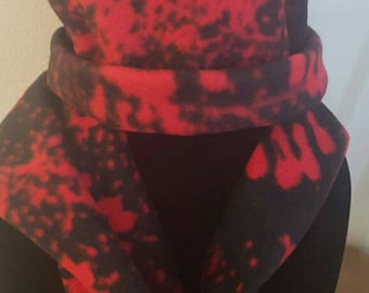 Walking Dead Bloody hands Winter Hat and Scarf Set