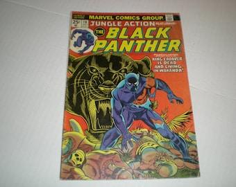 Jungle Action 10, (1974), Black Panther, Marvel Comics DE1