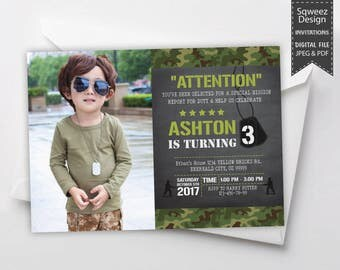 Army invitations camo invitations soldier birthday army birthday invitation soldier invitation army party invitation camouflage invitation boy invitation stopboris Image collections