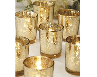 Gold Candle Holder Etsy