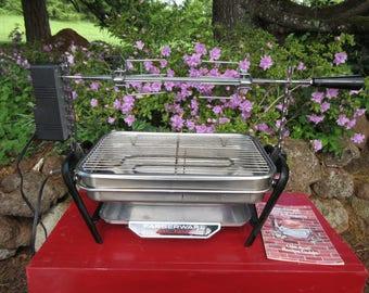 FARBERWARE Open Hearth Rotisserie Grill Model 455