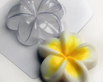 Plumeria mold, Flower mold, plastic mold, soap mold, bath bomb mold, chocolate mold