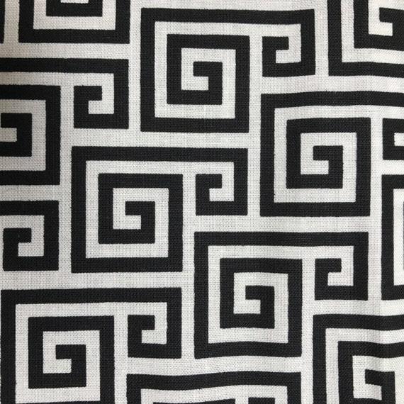 Black & White Spiral Fold Over Clutch / Cross Body